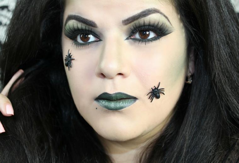 18 ideas geniales de maquillajes de brujas para halloween for Como pintarse de bruja guapa