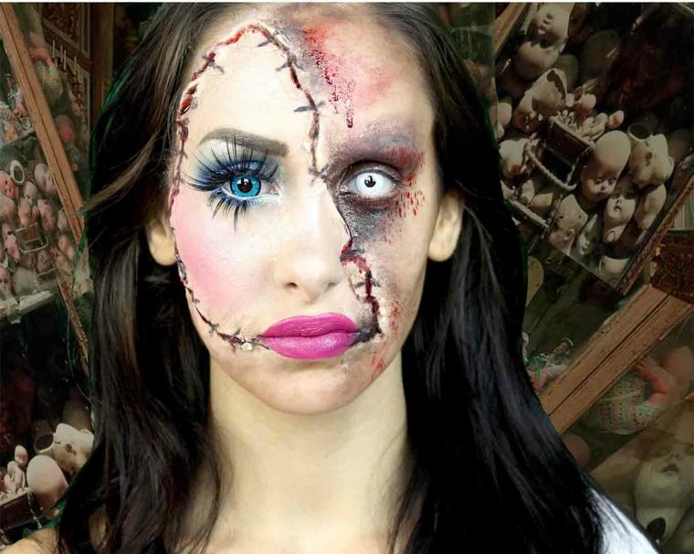maquillajes de brujas para halloween en transformacin asusta realmente - Maquillaje Bruja