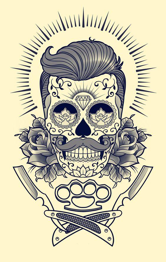 Dibujo Corazones Colores Tattoo